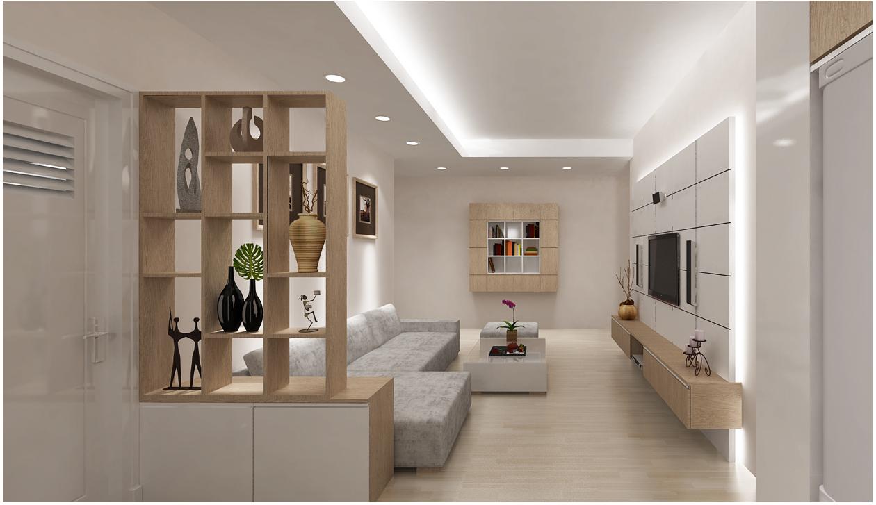 Không gian thơ mộng hơn nhờ bố trí đèn hắt từ trần nhà hay hốc tường