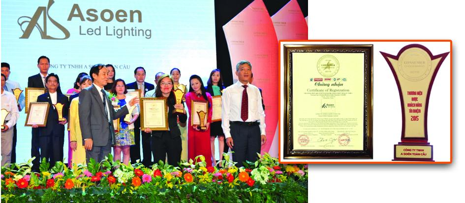 Giải thưởng tín nhiệm 2015