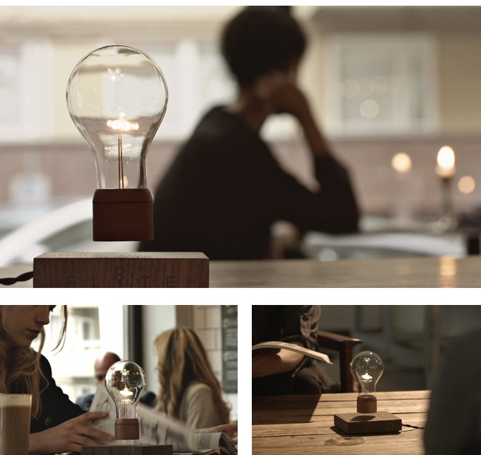 flyte floating lamp levitating